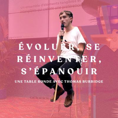 Évoluer, se réinventer et s'épanouir – Table-ronde le 24/02