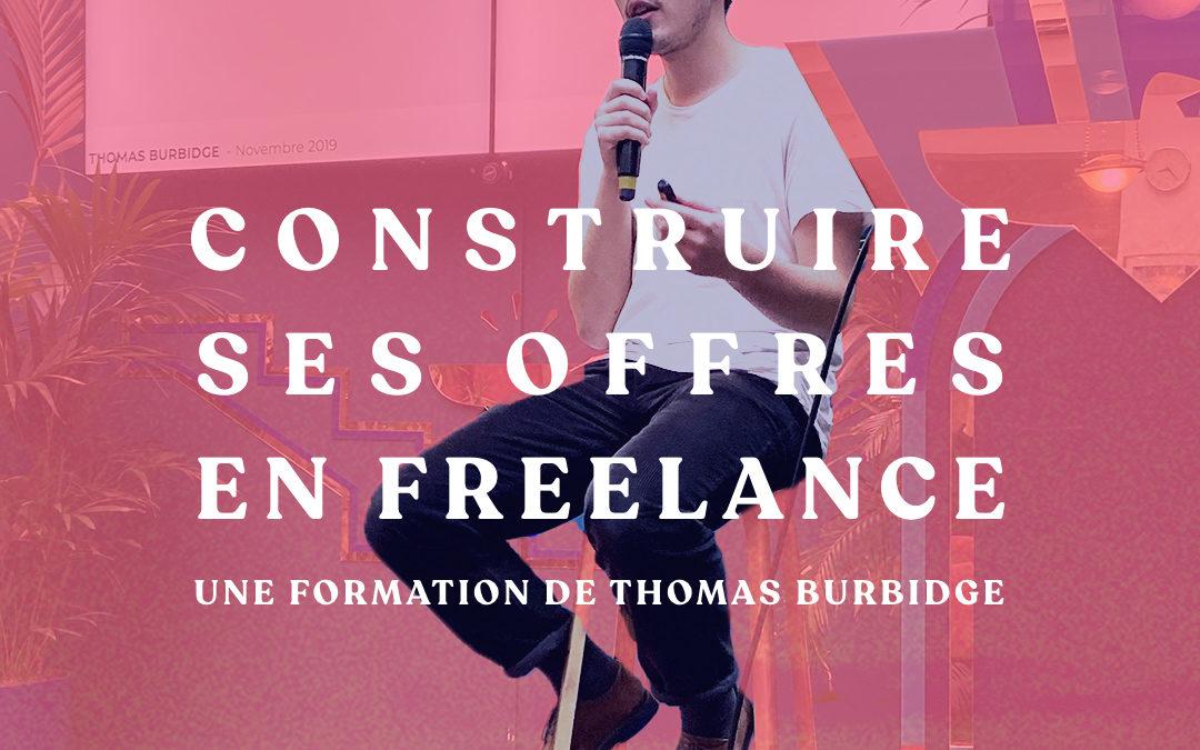 Construire ses offres en freelance – Formation en Ligne