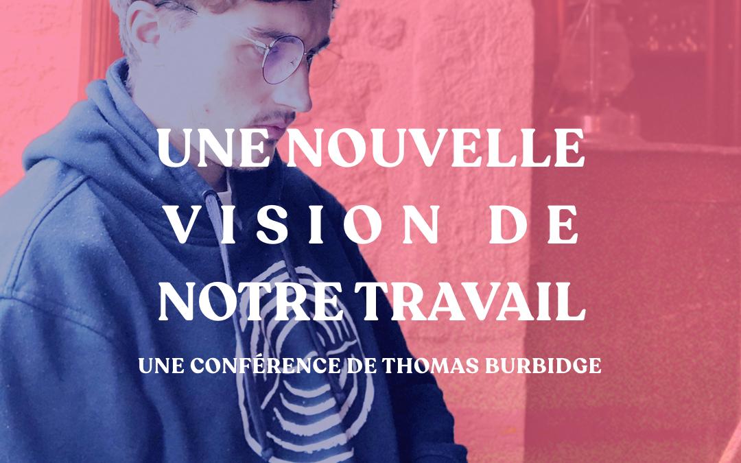 26/11 à 14h – Conférence – Une nouvelle vision du travail  – La ré-emergence de l'indépendant